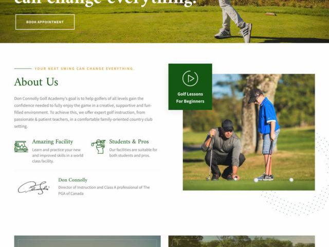 Don Connolly Golf Academy